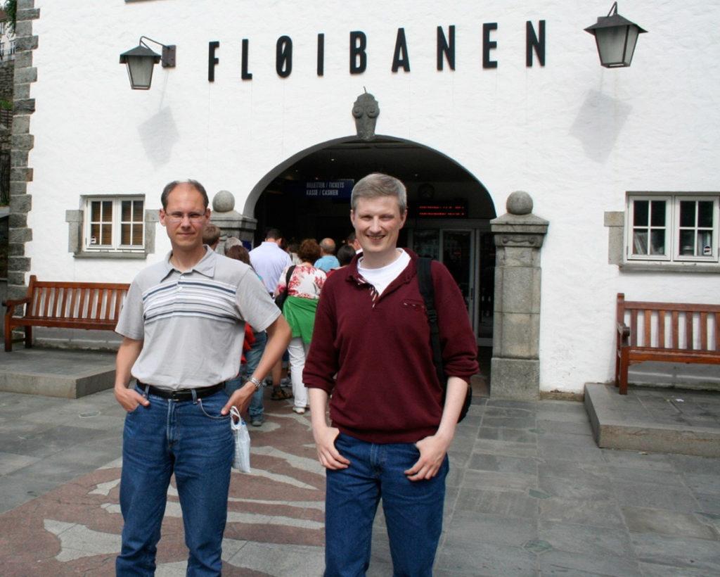 2009-juli-17 Fløyen Bergen-1