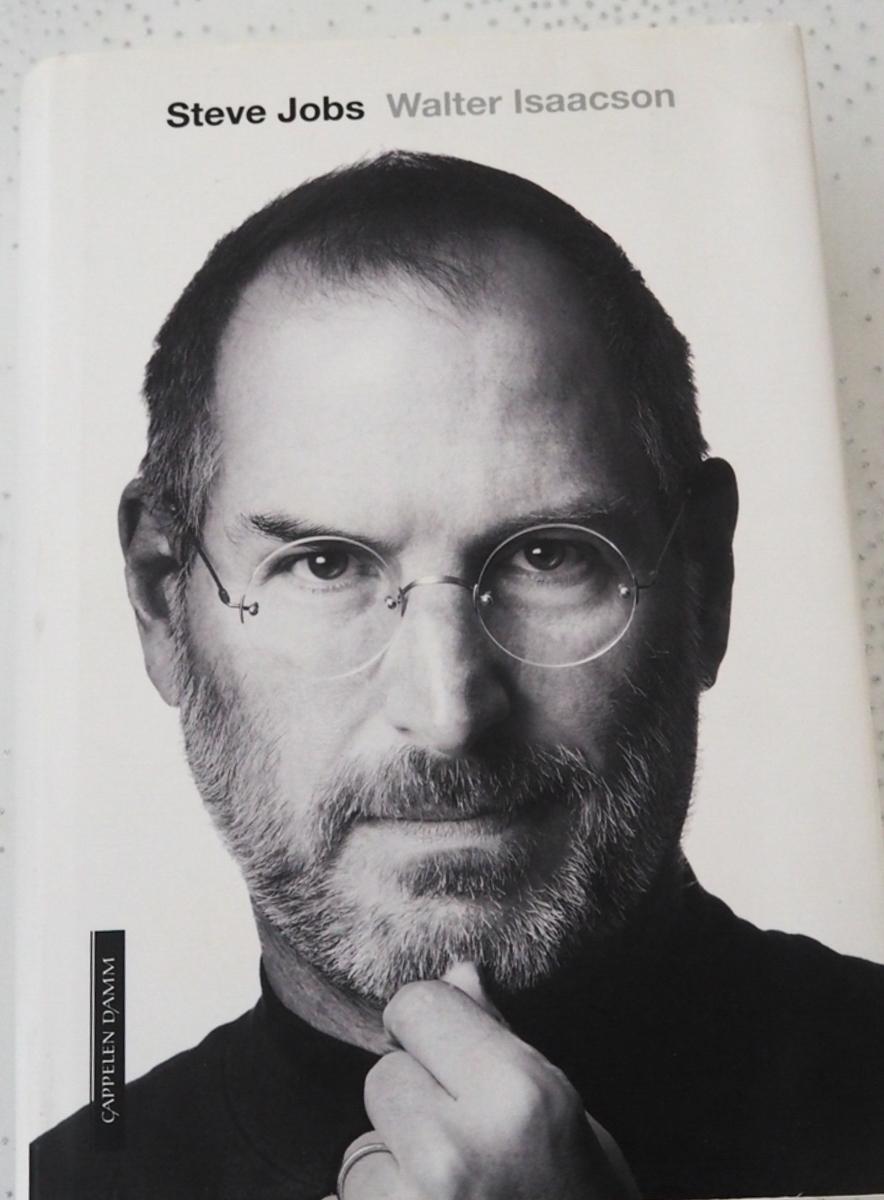 Steve Jobs - Walter Isaacson Bokomslag