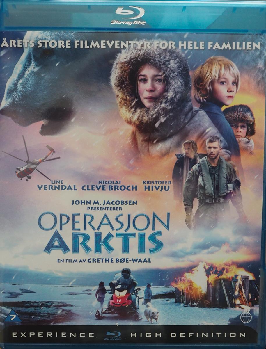 Operasjon Arktis Book Cover