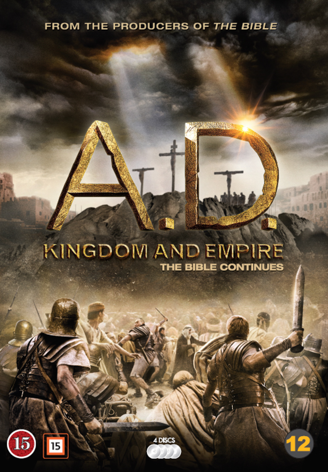 A.D. the Bible continues (2015) Bokomslag