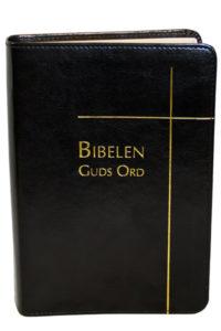 Biblen Guds Ord 2017 normal sort kunstskinn