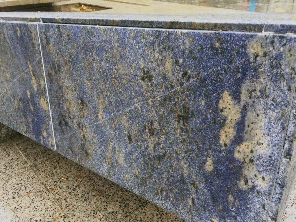 Den blå stein i Bergen