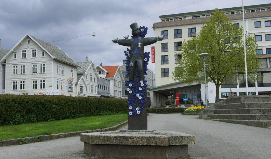 Statue i Haugesund