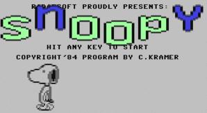 Bilde skjermdump av Snoopy på Wikipedia.