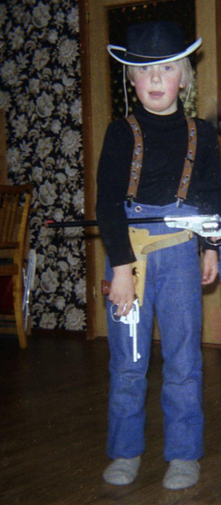 Leke Cowboy var gøy-1