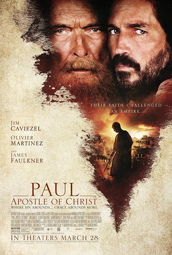 2018-mars-Paul Apostle Of Christ