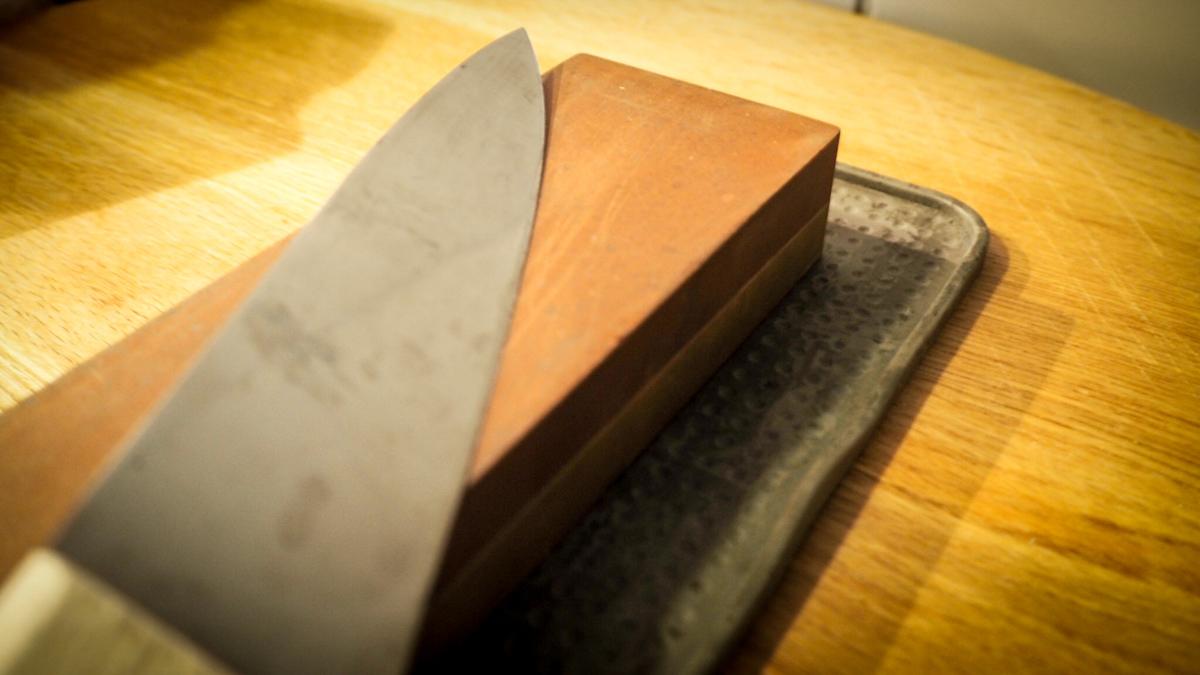 slip knivene selv