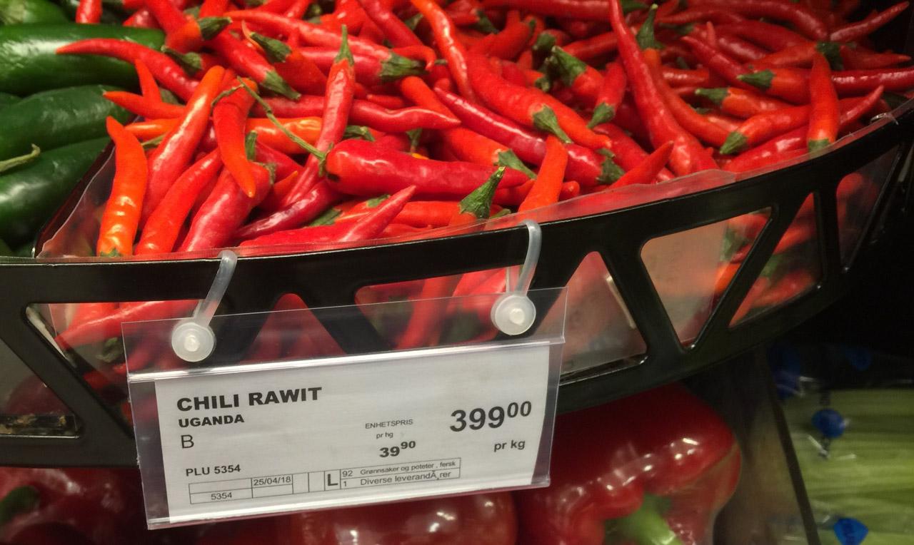 Chili Rawit - sterkt og godt