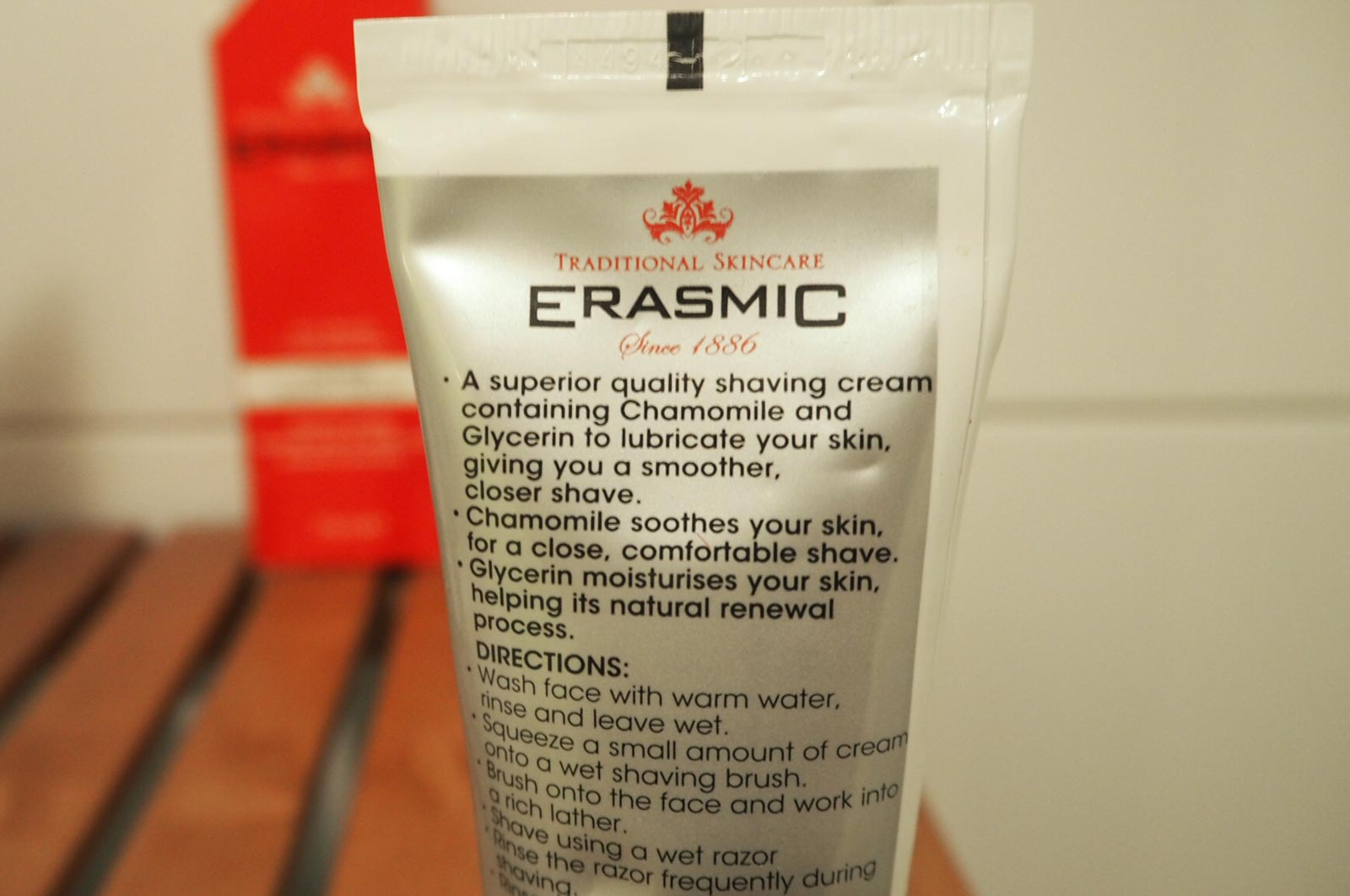 Erasmic barberkrem
