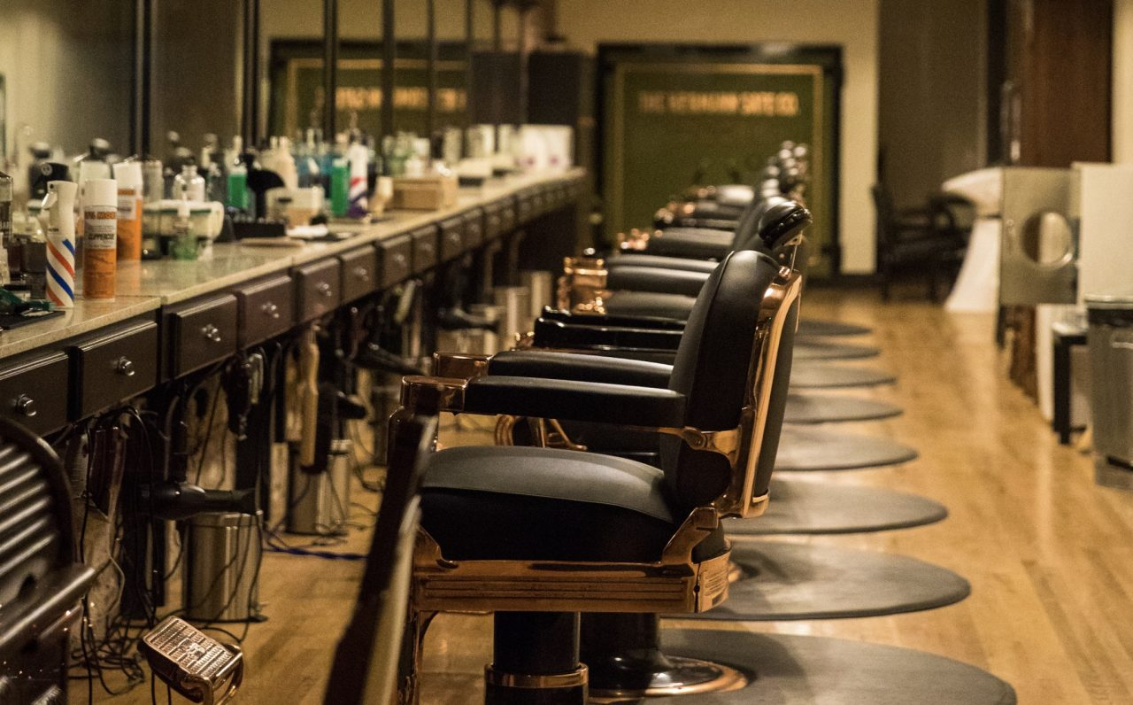 At The Barber`s