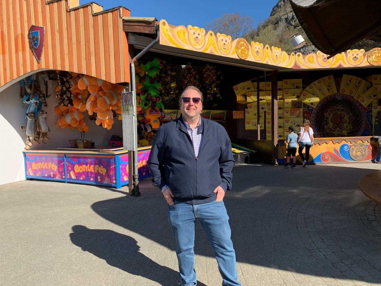 I Kongeparken blir alle voksne som barn igjen. En herlig og gøy opplevelse.