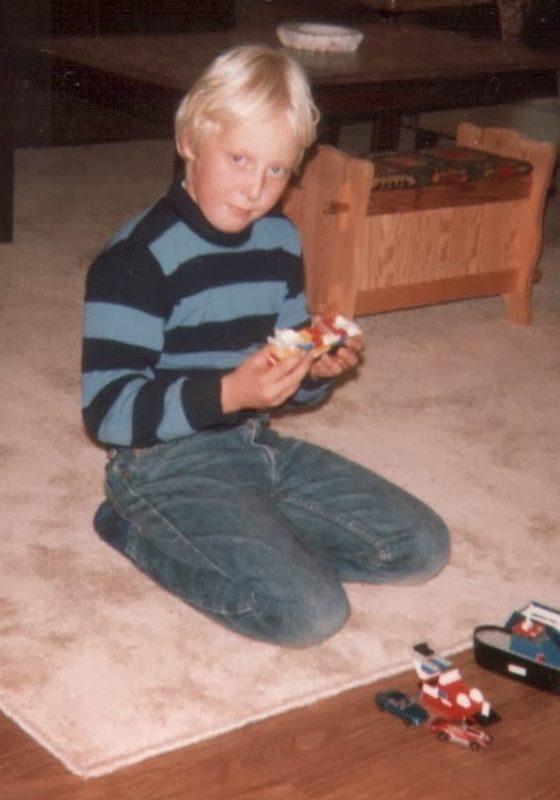 Legobygging 1982