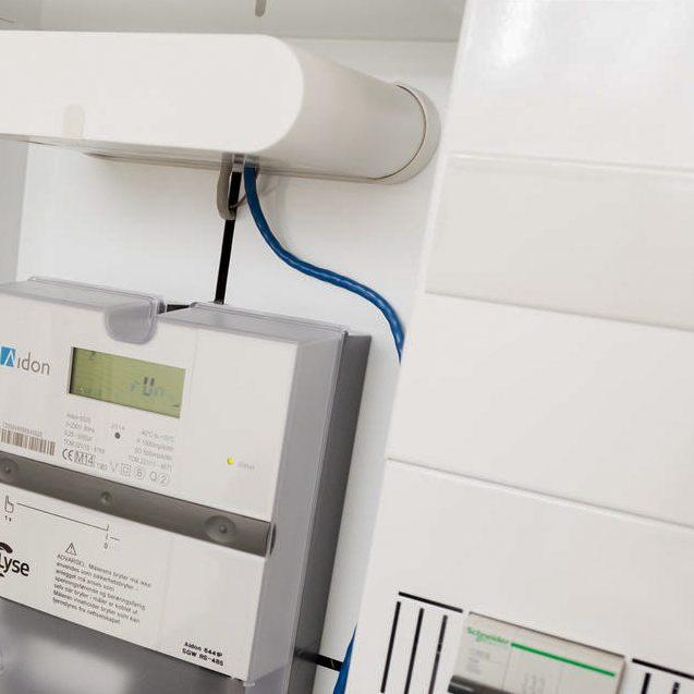Installering av nye automatiske strømmålereAMSSmart strøm